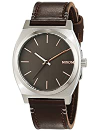 Nixon Men's Time Teller A0452066 Brown Stainless-Steel Quartz Watch