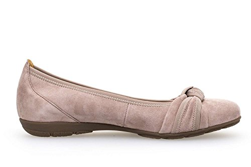 Gabor Casual Ballerina In Rosa Oversize 84.162.14 Grandi Scarpe Da Donna Rosa Antico