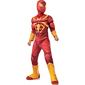 Costume Spider-Man Ultimate Deluxe Child Iron Spider 41gCAMkfc9L