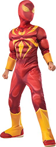 - 41gCAMkfc9L - Rubie's Costume Spider-Man Ultimate Deluxe Child Iron Spider Deluxe Child Costume