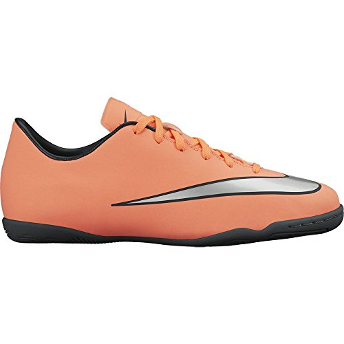 Nike Youth Mercurial Victory V Indoor [BRIGHT MANGO] (11.5C) - Indoor Soccer Girls Nike