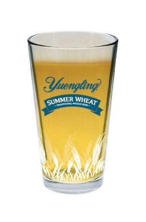 Yuengling Brewery Summer Wheat Beer Pint Glass