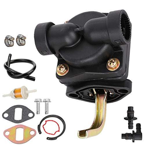 12-559-02-S Lawn & Garden Equipment Engine Fuel Pump kit fit Kohler CH11-CH16 CV11-CV16 CH410 11-16 HP Engine Replace # 12-559-01-S ()