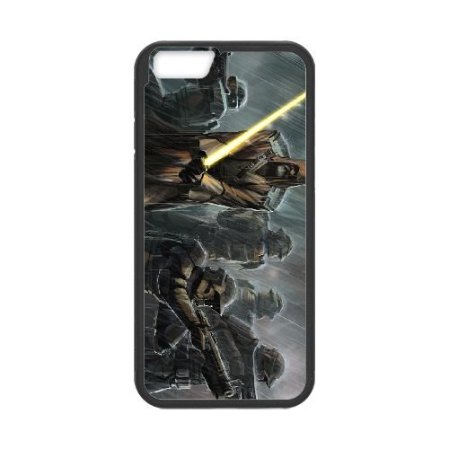 Star Wars The Old Republic 10 coque iPhone 6 4.7 Inch cellulaire cas coque de téléphone cas téléphone cellulaire noir couvercle EEECBCAAN00395