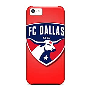 High Quality Hard Cell-phone Case For iphone 4s (jWL17507ajyU) Custom HD Fc Dallas Pattern