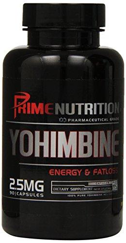 Prime Nutrition Yohimbine Capsules, 90