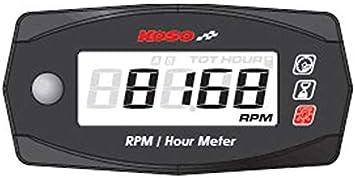 Koso Mini 4 Drehzahl Und Betriebszeitmesser Auto