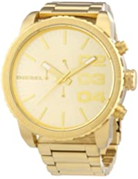 Men's DZ4268 Double Down Gold Watch