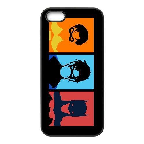 Batman Joker 001 coque iPhone 4 4S cellulaire cas coque de téléphone cas téléphone cellulaire noir couvercle EEEXLKNBC23396