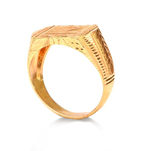 Senco Gold 22k 916 Yellow Gold Ring Amazon In Jewellery