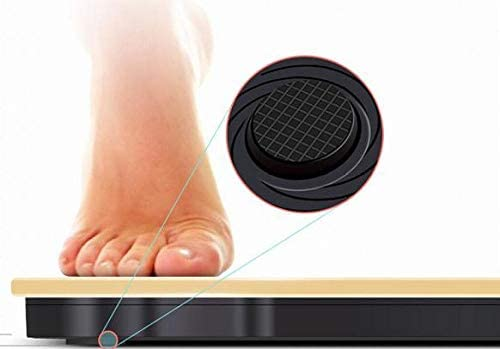 ZAOFENG Human Body Electronic Weighing Scale, USB Rechargeable Bathroom Scale Glass Weight Scale Weight Watchers