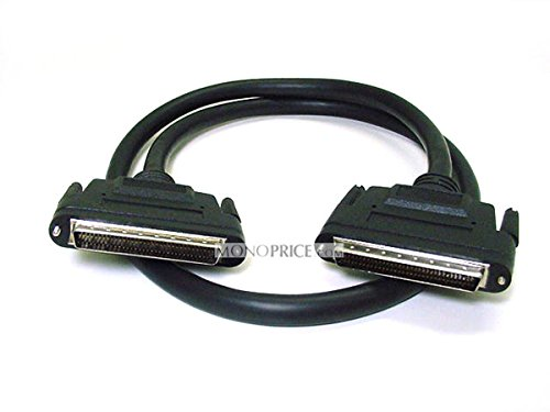 - Monoprice HPDB68 LVD M/M SCSI Cable, Screw - 6 Feet | Low Voltage Differential (LVD) Cable
