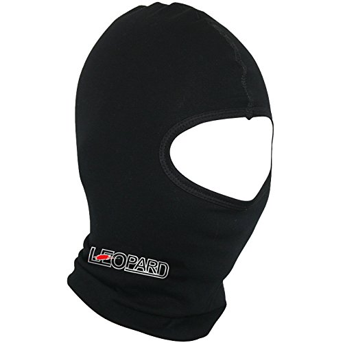 Leopard Windproof Thermal Cotton Black Motorbike Motorcycle Balaclava Facemask Headwear Touch Global Ltd