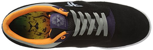 FALLEN Sskateboard SHOES SANDOVAL THE VIBE BLACK/DEEP PURPLE Size 11