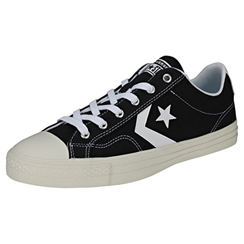 Converse Star Player Ox Mens Trainers Black White - 9 UK