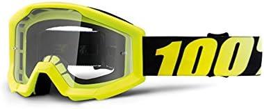 /Transparente Unbekannt 100/% Kids Cross Gafas The Strata Neon Yellow/