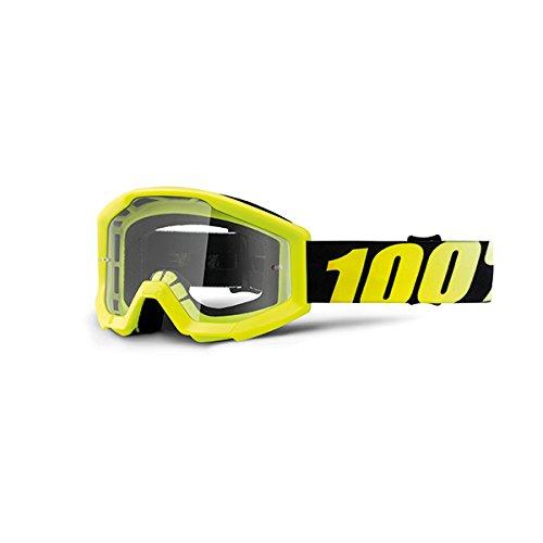 100% - Masque 100% Strata Youth Neon Yellow Ecran Clair