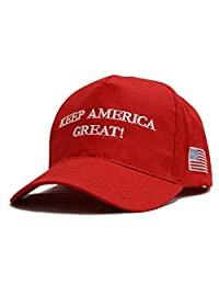 Besti Gorra de béisbol Ajustable de Make America Great Again Donald Trump USA