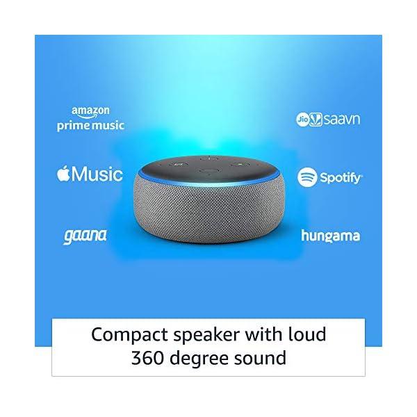 41gCF 3IvoL Echo Dot (3rd Gen) – Smart speaker with Alexa (Grey)
