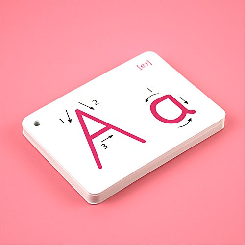 Alphabet Flash Cards - 26 alphabet card A-Z Capital Letters For School Teachers, Parents - Early Learning of Toddlers and Kids Of All Ages (Alphabet Photo Puzzles)