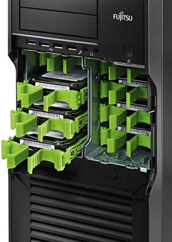 """S26361-F4030-L8 - Nachrüstbausatz für den Einbau von 8x 2,5"""" HDD/SSD oder 4x 3,5"""" HDD, bestehend aus 4fach und 8fach Coldplug Bracket, 4fach SAS/SATA Coldplug-Kabel, Easy Rails für 8x 2,5 HDDs/SSDs und 4x 3,5 HDDs für Fujitsu Celsius M720, R920 HDD/SSD Anschluss Nachrüstsatz"""