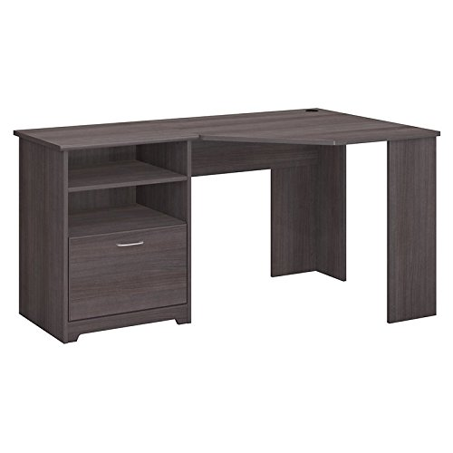Cabot Corner Executive Desk, Heather Gray