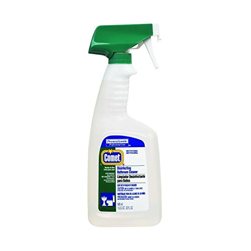 Proctor & Gamble Comet Disinfecting Bathroom Cleaner,32 oz Bottle, 8 Per Case