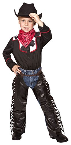 Amscan Children's Cool Cowboy Costume Size Large (Ride 3 Piece Costumes)