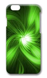 MOKSHOP Adorable Green abstract design Hard Case Protective Shell Cell Phone Cover For Apple Iphone 6 (4.7 Inch) - PC 3D