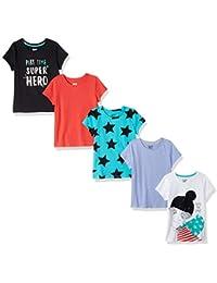 Girls' 5-Pack Short-Sleeve T-Shirts