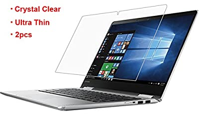 "CaseBuy Lenovo Yoga 710-14 Clear Anti Scratch Whole Screen Protector Film for Lenovo Yoga 710 14 2-in-1 14"" Touch-Screen Laptop(Set of 2) from CaseBuy"