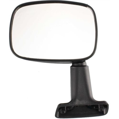 MAPM - FOR Toyota 4Runner 84-86 Pickup Truck Drivers Side View Manual Door Mounted Mirror - Partslink Number TO1320106 (Manual Drivers Mounted Door Mirror)