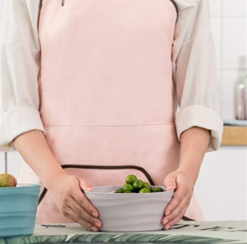 WJS Grembiule da Cuoco, Impermeabile, antimacchia e Olio a Prova di Grembiule, Semplice Stile Giapponese