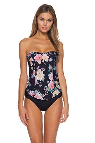 Becca-by-Rebecca-Virtue-Womens-First-Date-Aria-Bandeau-Tankini-Top