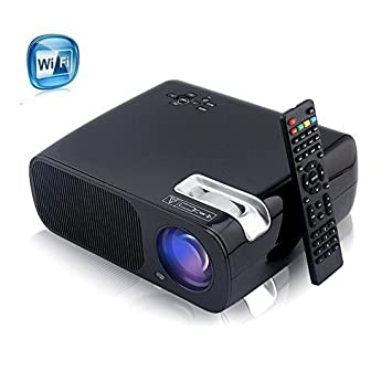 Yaufey®BL-20 LED proyector WiFi HD 1080P 2600 lúmenes Home Cinema ...