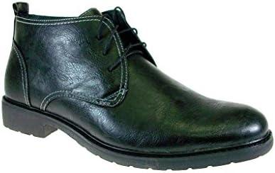 Ferro Aldo Men's DA51001Bk323 Ankle High Lace Up Chukka Boots