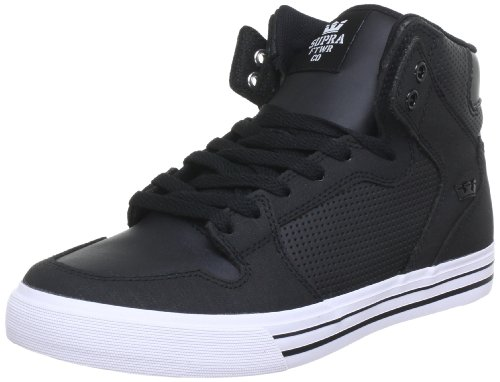 Supra Vaider, Unisex Adults' Hi-Top Sneakers Black (black - White Bkw)