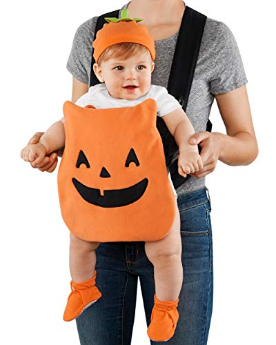 Cute Mommy And Baby Halloween Costumes (Carter's Baby Jack-O-Lantern Pumpkin Carrier Halloween)
