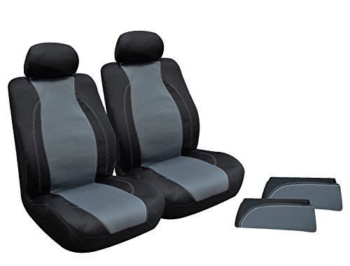 (Type S (SC54023-6 Black/Grey Wetsuit Seat Cover Kit )