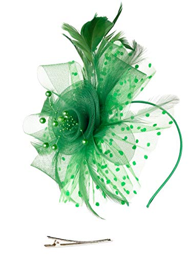 Mother Daughter Costumes Matching - Fascinators Hat for Women Tea Party