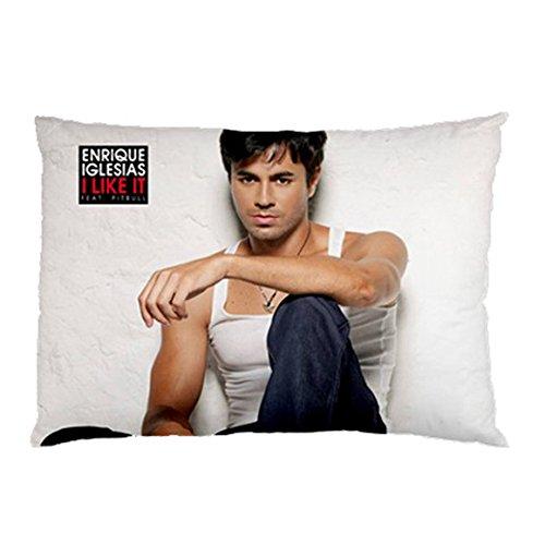 Enrique Iglesias Pillowcase/Fundas para almohada in Size 18 ...