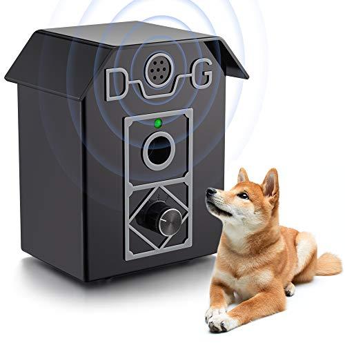 ULTPEAK Dog Bark Control Anti Barking 50 FT Range Stop Barking Device, Training Tool, Safe for All Dogs, Bark Control…