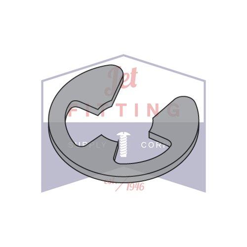 Steel .125 E-Style Retaining Rings QUANTITY: 3,000 pcs Black Phos