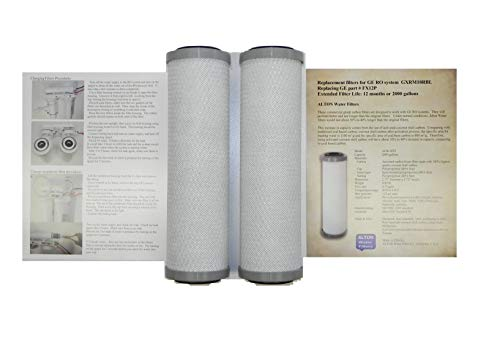 - Pack of 2 filters, ALTON brand comparable filters to GE FX12P for GXRM10RBL, PNRV12, GXRV10 RO water systems, commercial grade, last longer