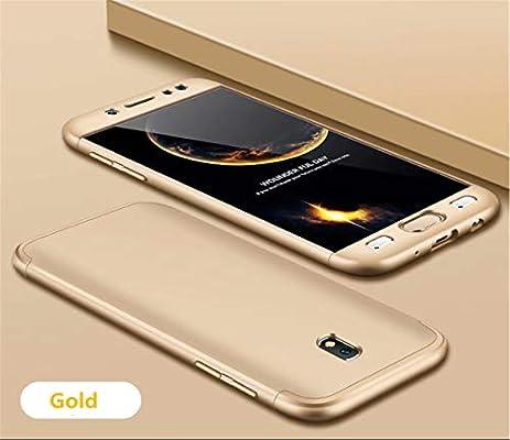 DECHYI compatibles para Funda Samsung J5 2017,Cubierta + Cristal ...