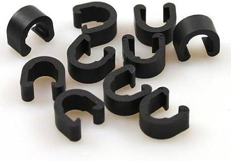 Derailleur Lines Case Brake Cable//Line Buckles C Shape Clips C-buckle Clasps