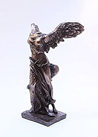 10 Inch Winged Victory Nike of Samothrace Resin Statue Figurine