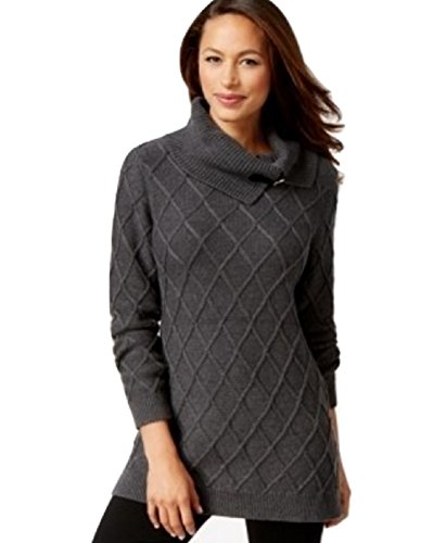 Buy belted cowl neck sweater dress - 8