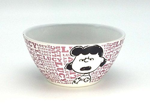 Peanuts World Collection Ceramic Lucy Bowl Word -