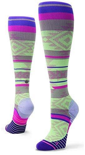 Stance Motivation Crew Socks - Women's Purple Small by Stance